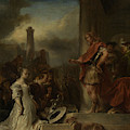 The Continence Of Scipio, Jan Van Noordt by Litz Collection