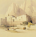 The Convent Of St. Catherine by David Roberts