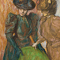 The Conversation by Edgar Degas