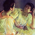The Conversation by Mary Stevenson Cassatt