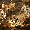 The Conversion Of Saint Paul by Peter Paul Rubens