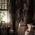 The Coopers Window - A Glimpse Into The Artisans Workshop by Gary Heller