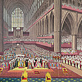 The Coronation Of King William Iv And Queen Adelaide, 1831 Colour Litho by English School
