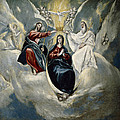 The Coronation Of The Virgin by El Greco