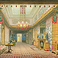 The Corridor Or Long Gallery by English School