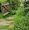 The Cottage Garden Walkway by Expressive Landscapes Fine Art Photography by Thom