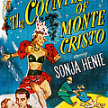 The Countess Of Monte Cristo, Us Poster by Everett
