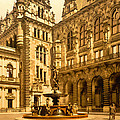 The Court House-hamburg-germany - Between 1890 And 1900 by Don Kuing