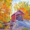 The Covered Bridge by David Lloyd Glover