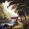 The Covered Bridge by John Zaccheo