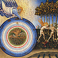 The Creation Of The World And The Expulsion From Paradise by Giovanni Di Paolo