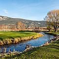 The Creek Runs Through by Randy Giesbrecht