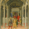 The Crippled And Sick Cured At The Tomb Of Saint Nicholas by Gentile da Fabriano