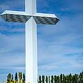 The Cross At Effingham Illinois by Debra Martz