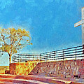 The Cross Of The Martyrs  Sante Fe  New Mexico  by Digital Photographic Arts