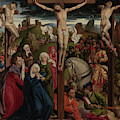 The Crucifixion Dreux Budé Master, Possibly André Dypres by Litz Collection