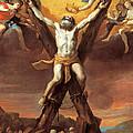 The Crucifixion Of St Andrew by Mattia Preti