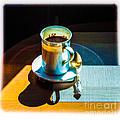 The Cup Of Black Coffee 1 by Algirdas Lukas