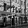 The Czech Inn - Dublin Ireland In Black And White by Bill Cannon