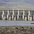 The Dalles Dam Along Columbia River by Jit Lim