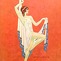 The Dance 1929 1920s Usa Nitza Vernille by The Advertising Archives