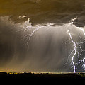The Dancing Couple - Lightning 10 by Jeff Stoddart