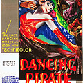 The Dancing Pirate, Us Poster Art by Everett