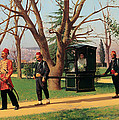 The Daughter Of The English Ambassador Riding In A Palanquin by Mountain Dreams