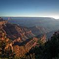 The Day Begins Grand Canyon by Rafael La O Garcia