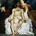 The Dead Christ And Angels by Edouard Manet