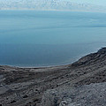 The Dead Sea - Looking At Jordan by Doc Braham