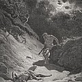 The Death Of Abel by Gustave Dore