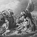 The Death Of General Wolfe, 1759, From The History Of The United States, Vol. I, By Charles Mackay by Benjamin West