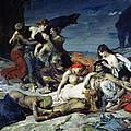 The Death Of Ravana by Fernand Cormon