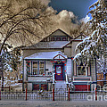 The Decorated Little House In The Snow by K D Graves