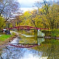 The Delaware Canal Near New Hope Pa In Autumn by Bill Cannon