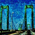 The Delaware Memorial Bridge by Angelina Tamez