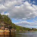 The Dells Of The Wisconsin River by Leda Robertson