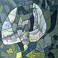 The Descending Dove Libra, 1966 by Osmund Caine