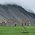 The Deserted Farm Horn In Iceland by Birgir Freyr Birgisson