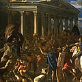 The Destruction And The Sack by Nicolas Poussin