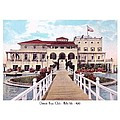 The Detroit Boat Club - Belle Isle - 1910 by John Madison