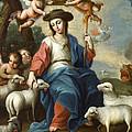 The Divine Shepherdess by Miguel Cabrera