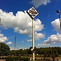 The Dixie Cafe Sign by Melissa Driver