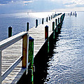 The Dock Of The Bay by Norman Johnson