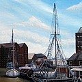 The Docks Gloucester by Richard Taylor
