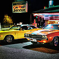 The Dodge Boys - Cruise Night At The Sycamore by Thomas Schoeller