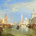 The Dogana And San Giorgio Maggiore by Joseph Mallord William Turner