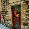 The Door And The Wonderful Wall by Rene Triay Photography