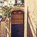 The Door With Overview Of Ronda by Jenny Rainbow